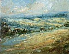 Rupert Aker, Windrush Valley, Barrington and Burford, Cotswolds Landscape Art