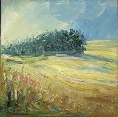 Rupert Aker, Wishanger, Landscape Art, Original Painting,