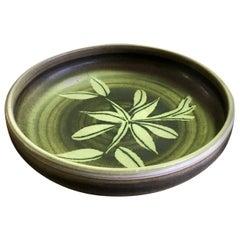 Rupert Deese Mid-Century Modern California Studio Pottery Ceramic Floral Bowl