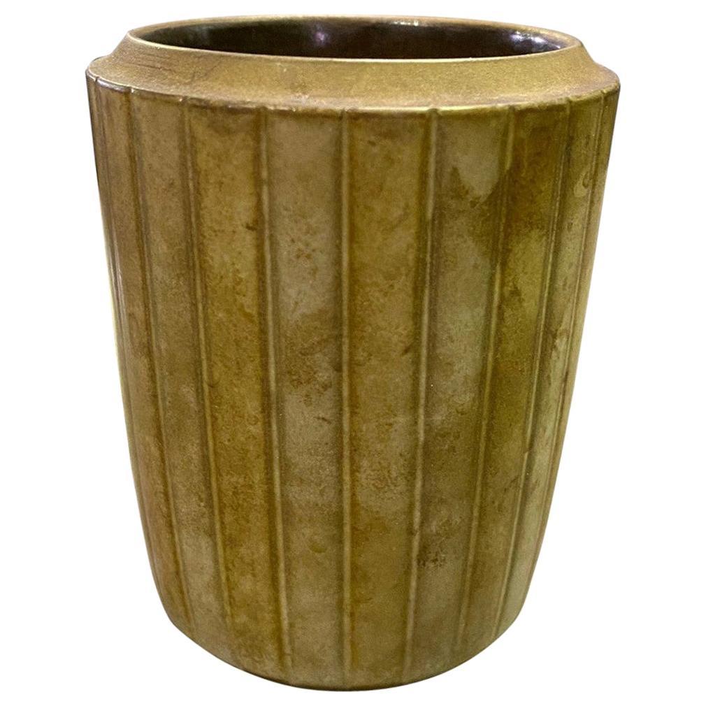 Rupert Deese Mid-Century Modern California Studio Pottery Ceramic Vase Vessel