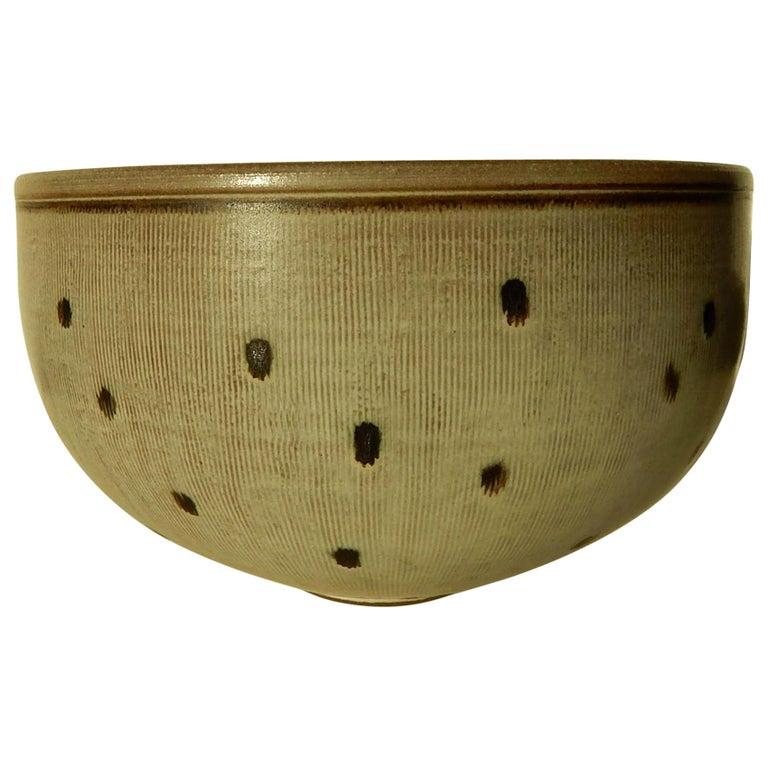 Rupert Deese Studio Ceramic Bowl, Fine Example