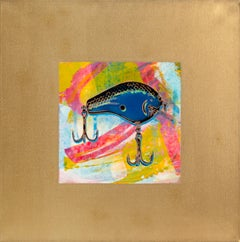 Fishing Lure I, Pop Art Painting by Rupert Jasen Smith