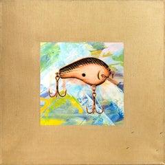 Fishing Lure II, Pop Art Painting by Rupert Jasen Smith