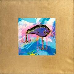 Fishing Lure III, Pop Art Painting by Rupert Jasen Smith
