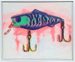 Fishing Lure, Pop Art Painting