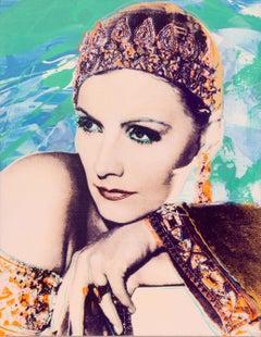 Greta Garbo as Mata Hari, Pop Art Painting by Rupert Jasen Smith
