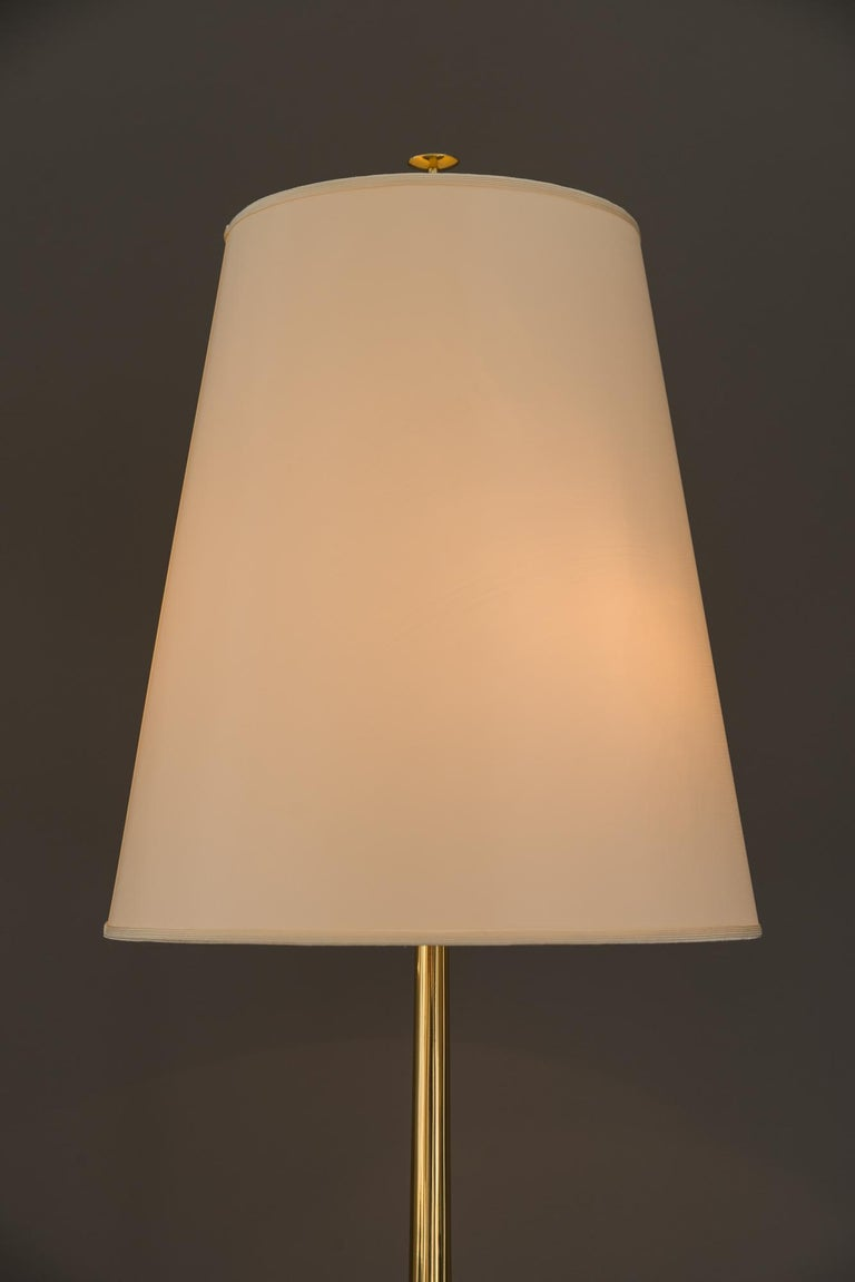 Rupert Nikoll Floor Lamp, circa 1950s In Good Condition For Sale In Wien, AT
