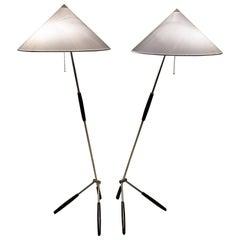 Rupert Nikoll Floor Lamp, circa 1950s