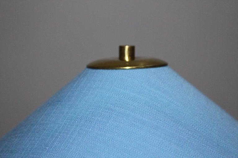 Rupert Nikoll Mid-Century Modern Vintage Brass Clawfoot Floor Lamp, 1950s Vienna For Sale 14