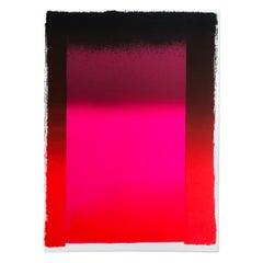 Black on Different Reds, Abstract Art, Minimalism, Modern Art, 20th Century
