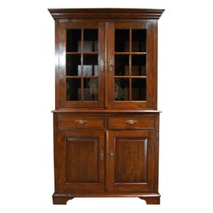 Rural 4-Door Kitchen Cabinet Made from Reclaimed Teak