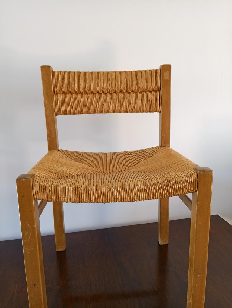 French Rush Chair by Pierre Gautier Delaye, France, 1960s For Sale