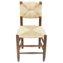 Rush Chair in the Manner of Charlotte Perriand