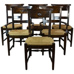 Rush Seat Dining Chairs