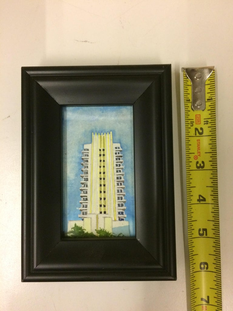 Number 5, Framed - Painting by Russ Havard