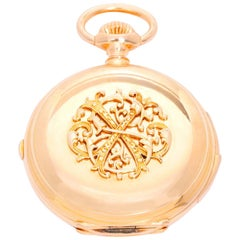 Russel & Fils Retailed by J. F. Bautte & Co. Pocket Watch
