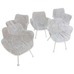 Russel Woodard Set of 5 Armchairs