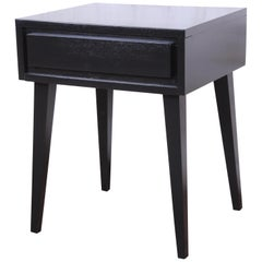 Russel Wright for Conant Ball American Modern Nightstand, Newly Refinished