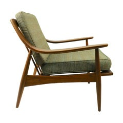 Russel Wright for Conant Ball Lounge Chair in the Danish Modern Style