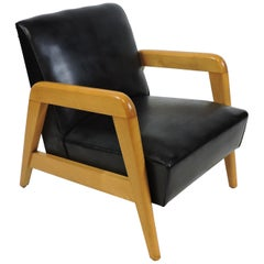 Russel Wright for Thonet Mid-Century Modern Lounge Chair
