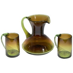 Russel Wright Glassware Protoypes, Set of 3