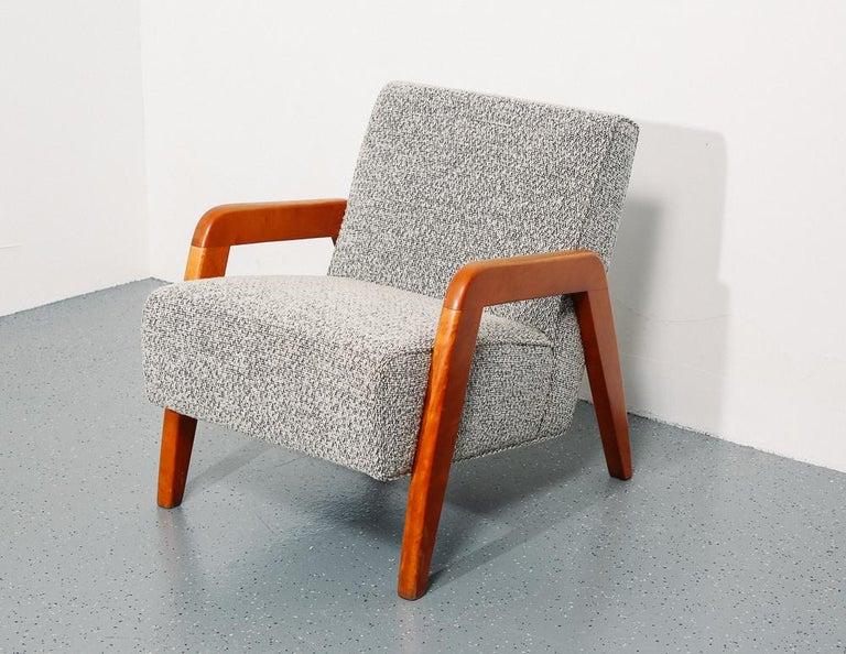Peachy Russel Wright Slipper Chair Theyellowbook Wood Chair Design Ideas Theyellowbookinfo