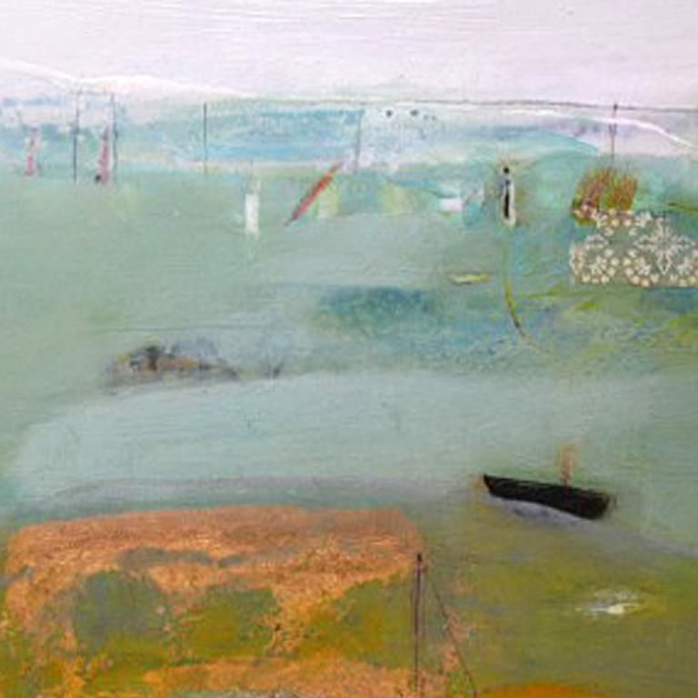 """""""Nautical and maritime themes have often resurfaced in my work mainly because of associations with my childhood, being brought up on the River Hamble within a stones throw from the busy international shipping port of Southampton. The Solent and"""