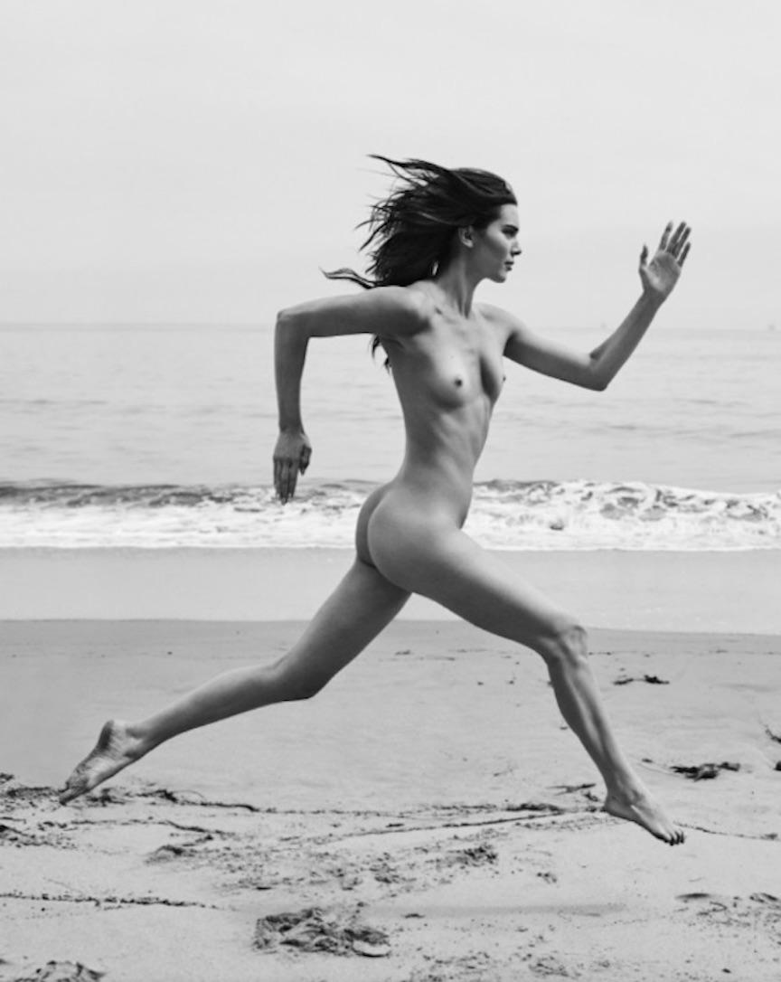 Kendall Running, Santa Barbara Beach, 2018