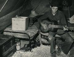 Migrant Strawberry Picker in Tent Near Hammond, Louisiana April 1939