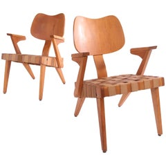 "Russell Spanner ""Ruspan"" Lounge Chairs"