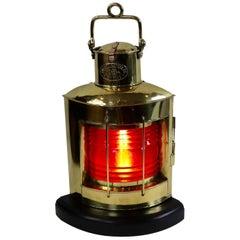 Russell Stoll Brass Ships Lantern