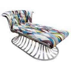 Russell Woodard Aluminum Chaise Lounge