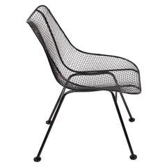 """Russell Woodard Original Black """"Sculptura"""" Dining Side Chair, 1950s"""