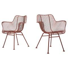 Russell Woodard Pair of 'Sculptura' Chairs