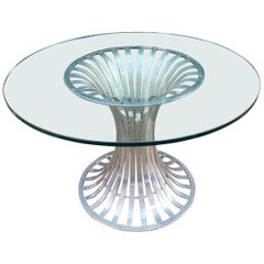 Russell Woodard Round Dining Table
