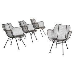 Russell Woodard Set of Four 'Sculptura' Chairs