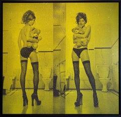 Kate Moss Diptych, Moss Green
