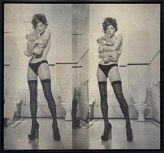 Kate Moss Diptych, Silver