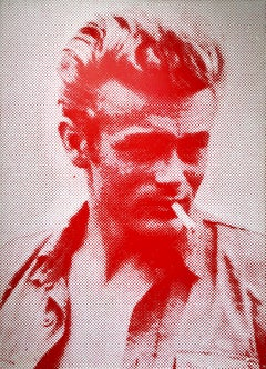 James Dean (Red and White)