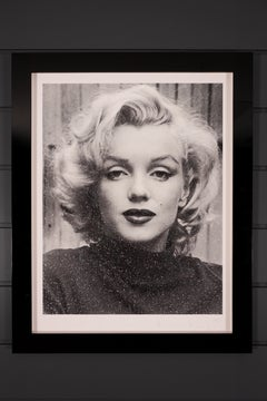 Russell Young, Marilyn (Diamond Dust) Black & White,  2019