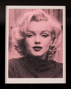Russell Young, Marilyn with Diamond Dust in Rose Pink, 2019