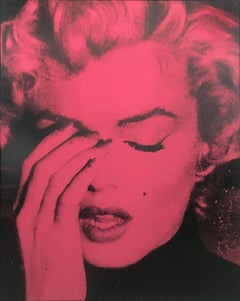 "Russell Young, ""Marylin Monroe"", Screenprint in color on Linen"