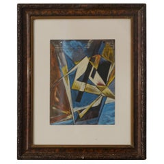 Russian Abstract Painting, Russia, 1930s