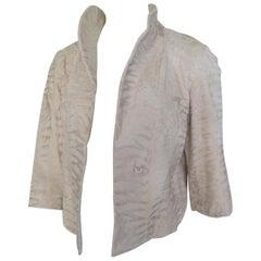Russian Broadtail Lamb Fur Jacket Bolero Style