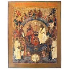 Russian Icon of Holy Trinity
