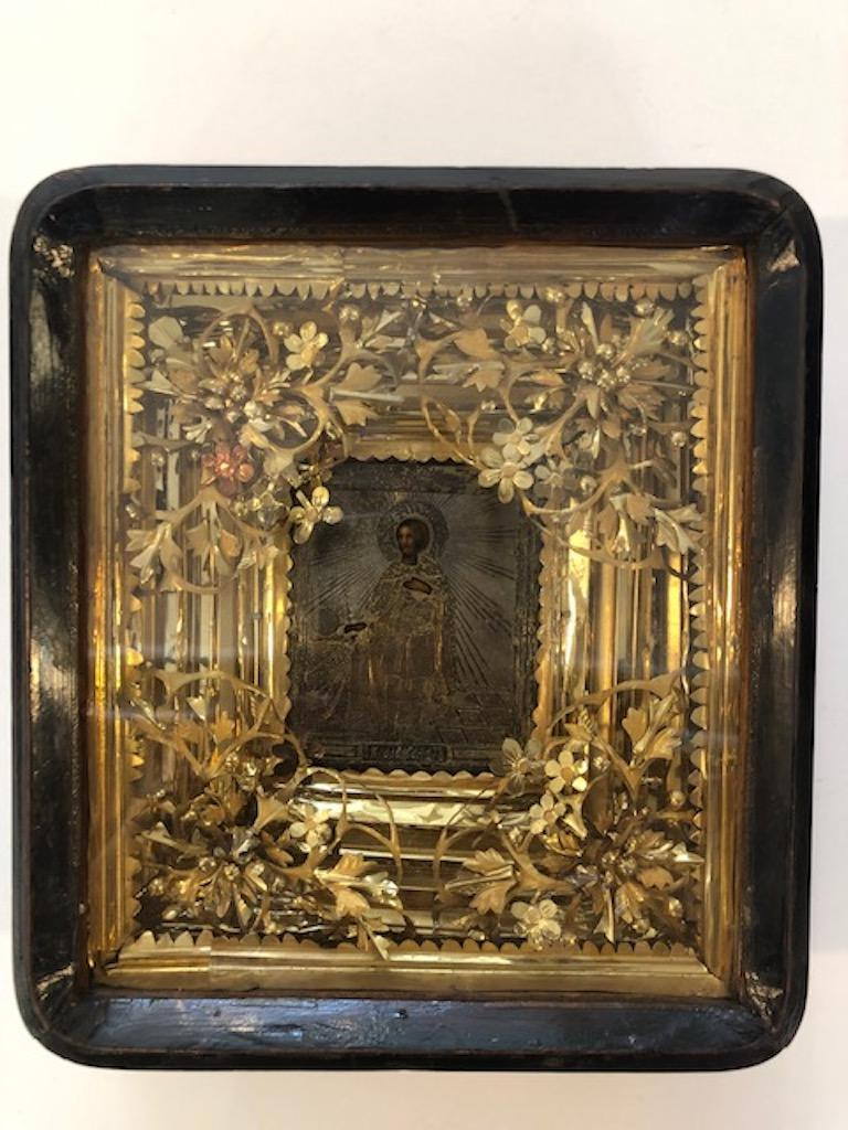 Other Russian Icon of Saint Alexander For Sale