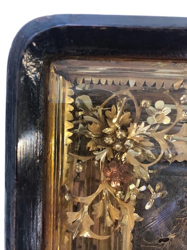 Late 19th Century Russian Icon of Saint Alexander For Sale