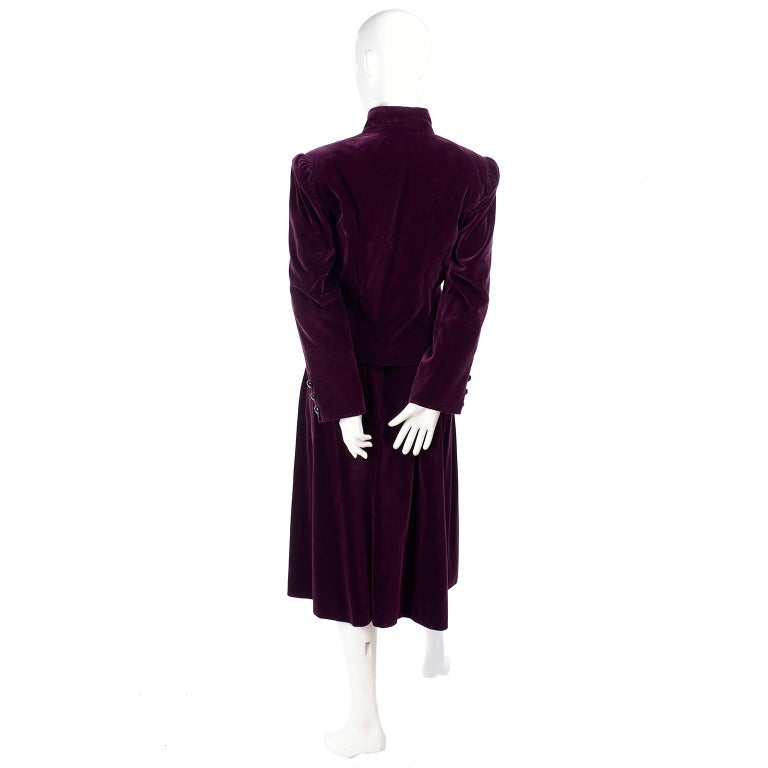 Russian Inspired Vintage Ysl Evening Outfit W Skirt And