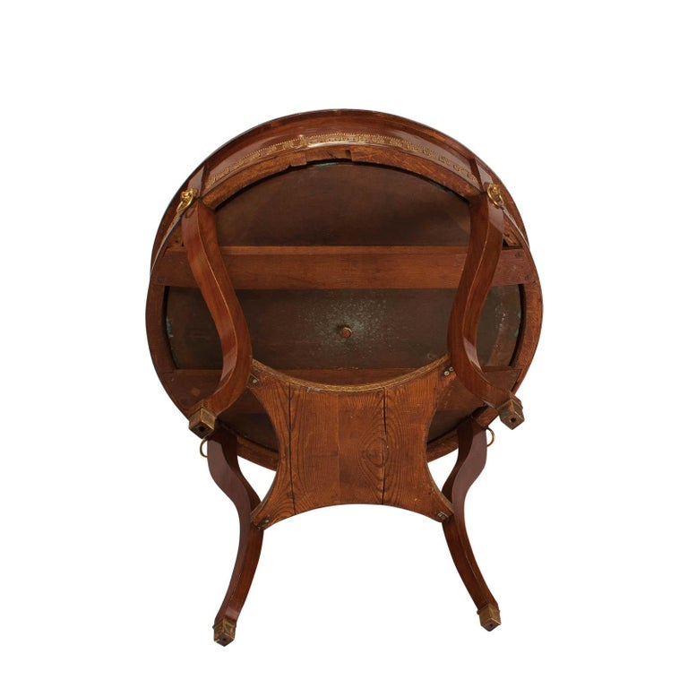 Russian Mahogany Wine Cooler or Jardinière, circa 1820 For Sale 2