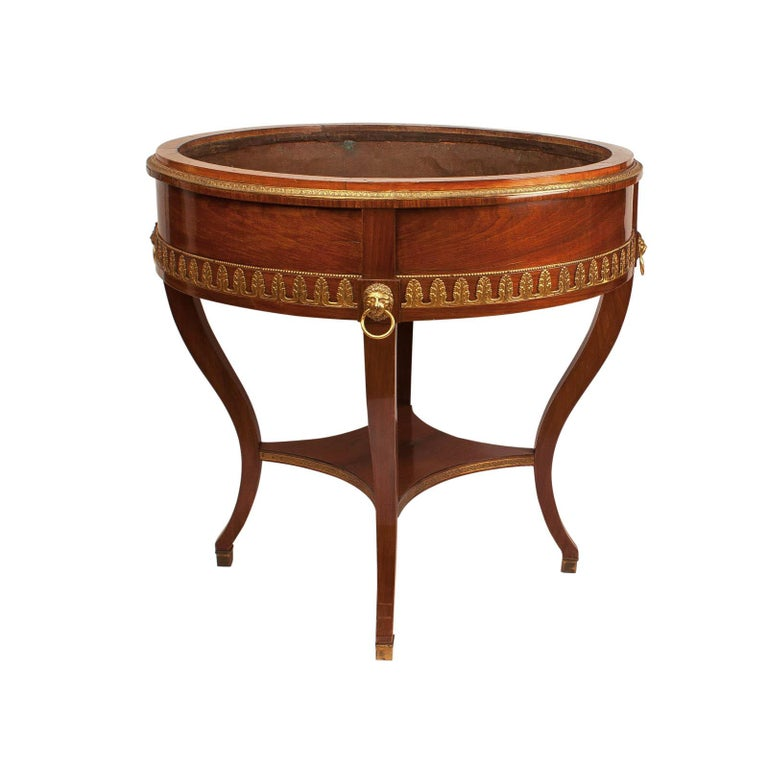 Russian Mahogany Wine Cooler or Jardinière, circa 1820 For Sale